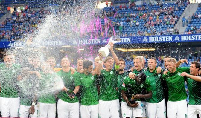 Bremen gewinnt «Liga total Cup» gegen Dortmund (Foto)