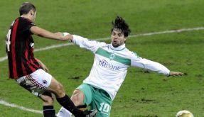 Bremen trotz Milan Remis ab - HSV besiegt Fluch (Foto)