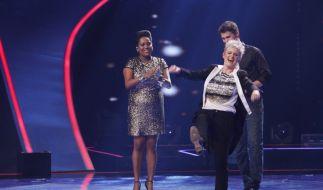 Brigitte Lorenz gewinnt gegen Menna und ist damit für Team Nena im Halbfinale. (Foto)