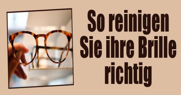 brillengl ser reinigen so putzen sie ihre brille ganz. Black Bedroom Furniture Sets. Home Design Ideas
