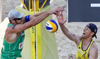 Brink und Reckermann verlieren Beach-Finale in Peking (Foto)