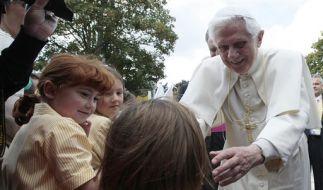 Britain Pope (Foto)