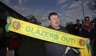 Britain Soccer Man United Protesting Fans (Foto)