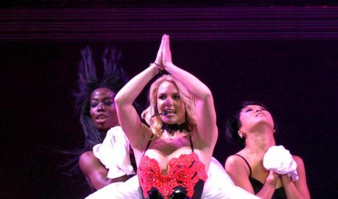 Britney Spears in leuchtender Weihnachtslaune (Foto)