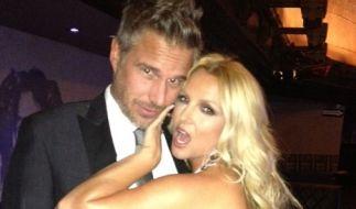 Britney Spears twitterte sich mit ihrem Verlobten Jason Trawick. (Foto)