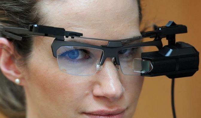 Brother bringt Daten-Brille «Airscouter» auf den Markt (Foto)