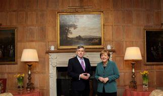 Brown und Merkel (Foto)