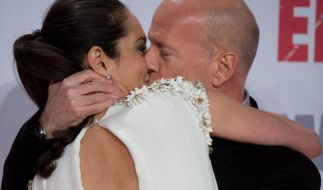 Bruce Willis und seine Frau Emma zeigen, was sie können. (Foto)