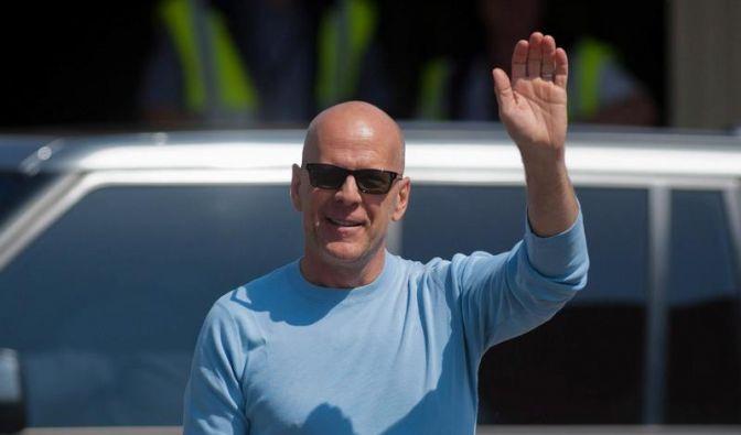 Bruce Willis zeigt seine jüngste Tochter (Foto)