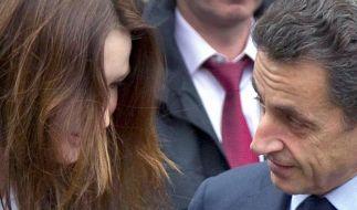 Bruni verliebte sich in den Gärtner Sarkozy (Foto)