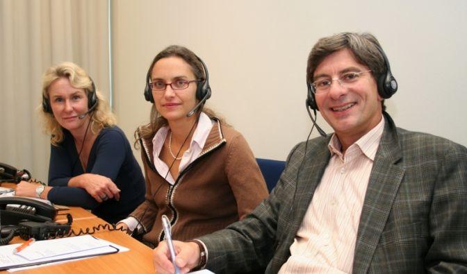 Brustkrebs-Telefonsprechstunde (Foto)