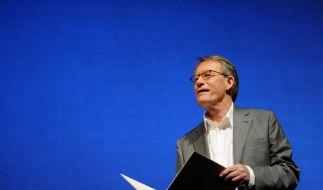 Büchner-Preis an Friedrich Christian Delius verliehen (Foto)