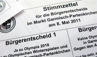 Bürger haben das Wort: «OlympJA» oder «NOlympia» (Foto)