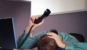 Bürostress (Foto)