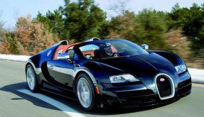 Bugatti Veyron als Roadster mit 1200 PS in Genf (Foto)