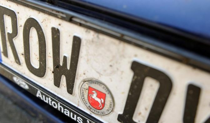 Bund plant mehr Freiraum bei Autokennzeichen (Foto)