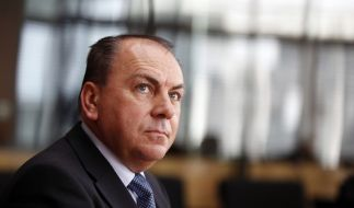 Bundesbank-Chef Axel Weber vor dem HRE-Untersuchungsausschuss. (Foto)