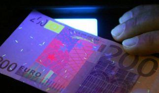 Bundesbank: Wenig Falschgeld in Deutschland (Foto)