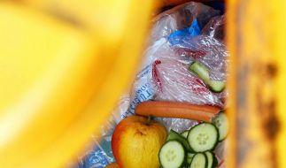 Bundesbürger werfen zu viel Lebensmittel in den Müll (Foto)