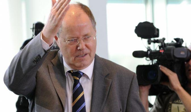 Bundesfinanzminister Peer Steinbrück, SPD (Foto)