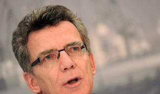 Bundesinnenminister Thomas de Maizière  (Foto)