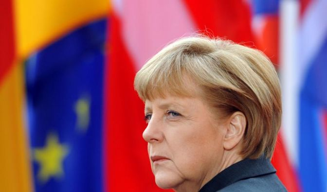 Bundeskanzlerin Angela Merkel braucht die Opposition beim Fiskalpakt. (Foto)