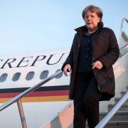Mächtigste Frau der Welt reist zum mächtigsten Mann (Foto)