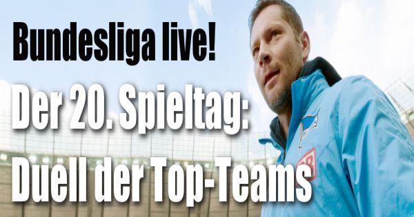 Alle ergebnisse der bundesliga bundesliga 20 spieltag for Tabelle live bundesliga