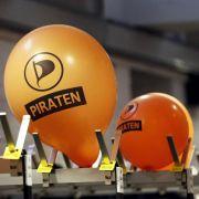 Im Aufwind: Die Piratenpartei.