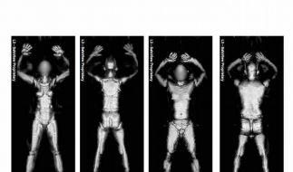 Bundespolizei: Test zu «Nacktscannern» läuft an (Foto)