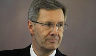 Bundespraesident empfaengt Sternsinger (Foto)