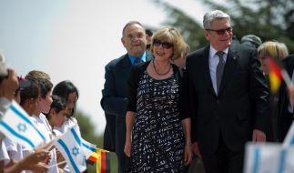 Bundespräsident Gauck besucht Israel (Foto)