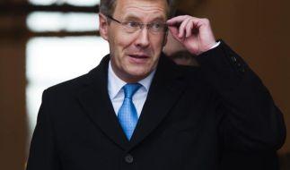 Bundespraesident Wulff empfaengt Montenegros Praesident (Foto)