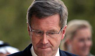 Bundespräsident Wulff in Bedrängnis (Foto)