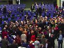 Bundestag stimmt neuer Griechenland-Hilfe zu (Foto)
