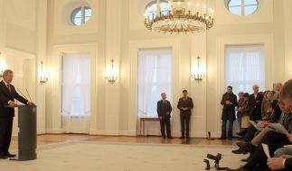 Bundestagspräsident rügt Medien im Fall Wulff (Foto)