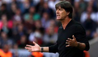Bundestrainer Joachim Löw lief auf der Pressekonferenz zu Hochform auf. (Foto)