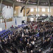«Gepflegter Stehempfang» - so war die Atmosphäre in der Bundesversammlung.