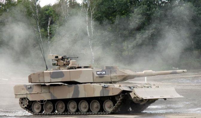 Bundeswehr-Offizier für Leopard-Test in Saudi-Arabien (Foto)