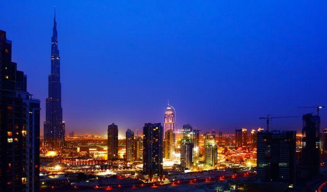 Burj Khalifa in Dubai (Foto)