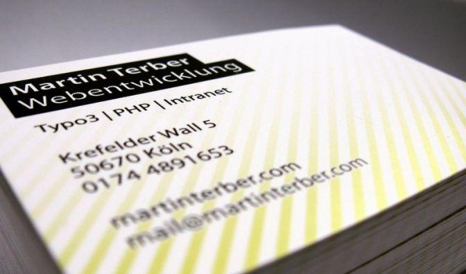Businessdaten sind die Visitenkarte im Netz (Foto)