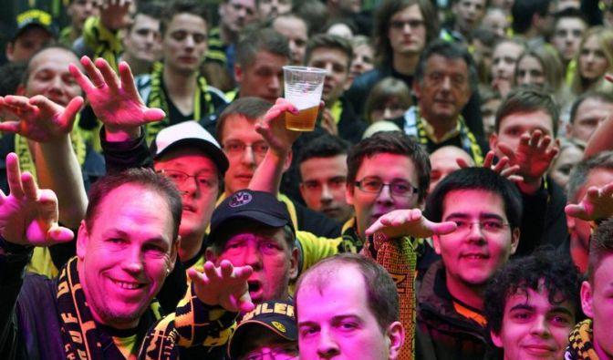 BVB-Fans erneut auf dem Gipfel - Zehntausende feiern (Foto)