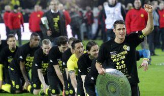 BVB freut sich auf Meisterschale (Foto)