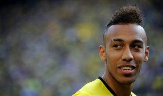 """BVB-Goalgetter Pierre-Emerick Aubameyang: Laut """"Sun"""" ist der FC Arsenal bereit, 57 Millionen Euro für den BVB-Kicker zu zahlen. (Foto)"""