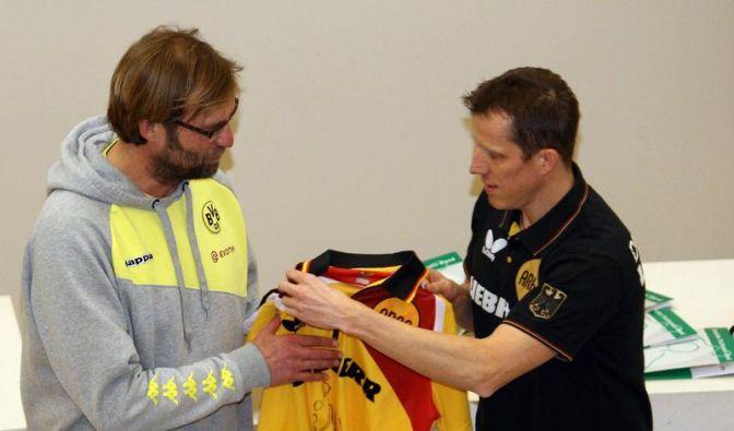 BVB unterstützt Tischtennis-WM in Dortmund (Foto)