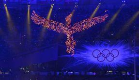 Bye, London: Langsam erlischt das Olympische Feuer. (Foto)