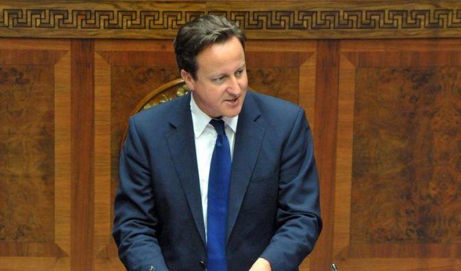 Cameron: 2012 muss Großbritannien loslegen (Foto)
