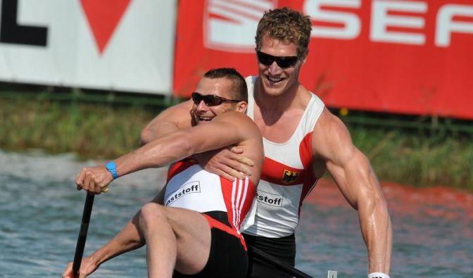 Canadier-Weltmeister Wylenzek/Holtz auf Olympia-Kurs (Foto)