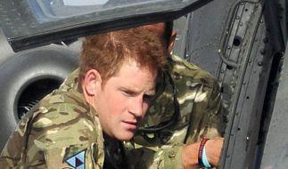 Captain Wales in Afghanistan. (Foto)