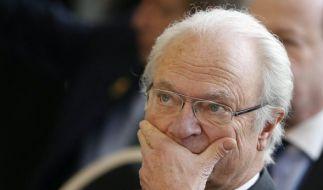 Carl Gustav darf seinen Enkel (noch) nicht sehen. (Foto)